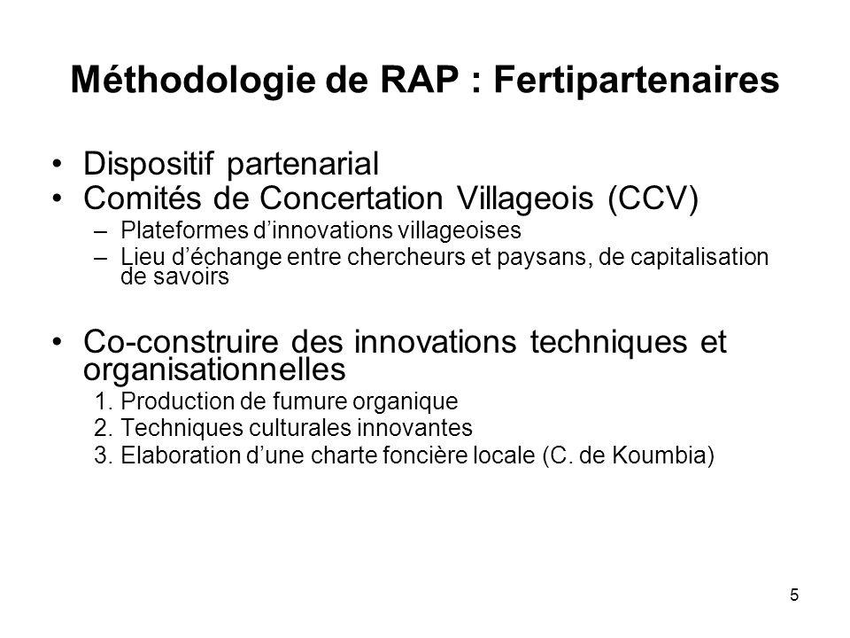 Méthodologie de RAP : Fertipartenaires