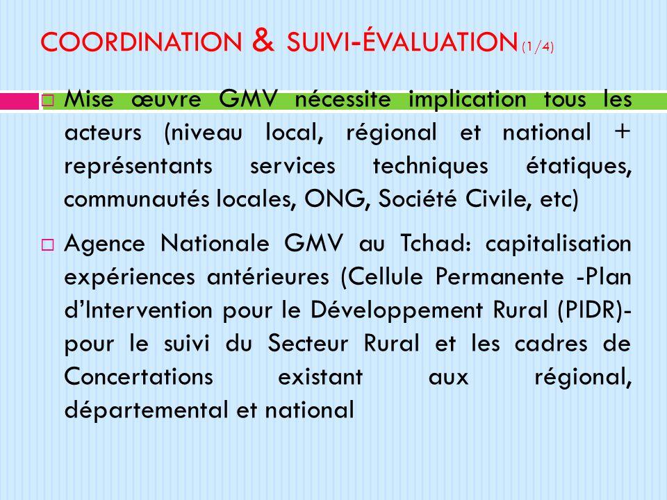 coordination & suivi-évaluation (1/4)