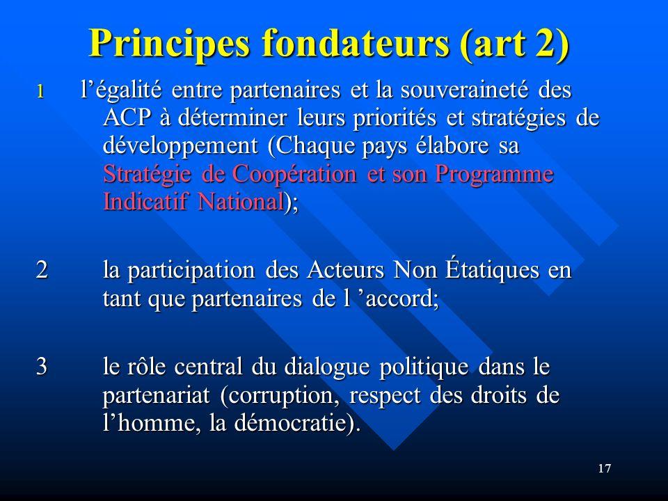 Principes fondateurs (art 2)