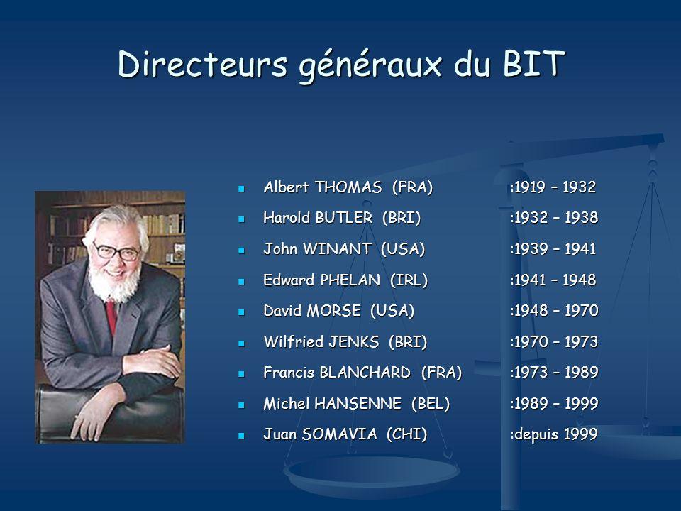 Directeurs généraux du BIT