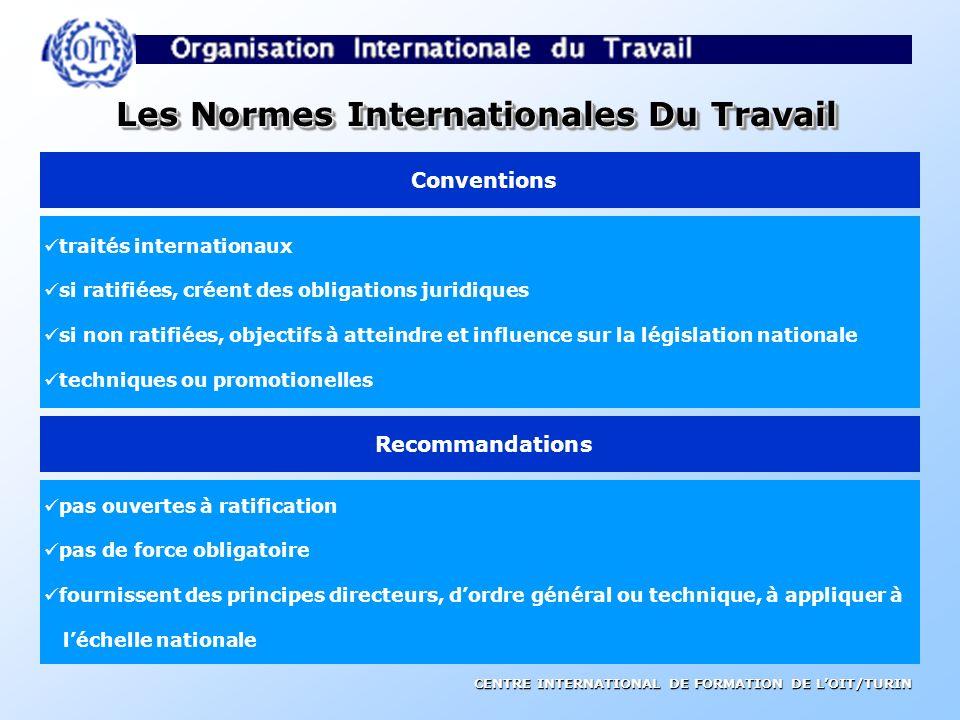 Les Normes Internationales Du Travail