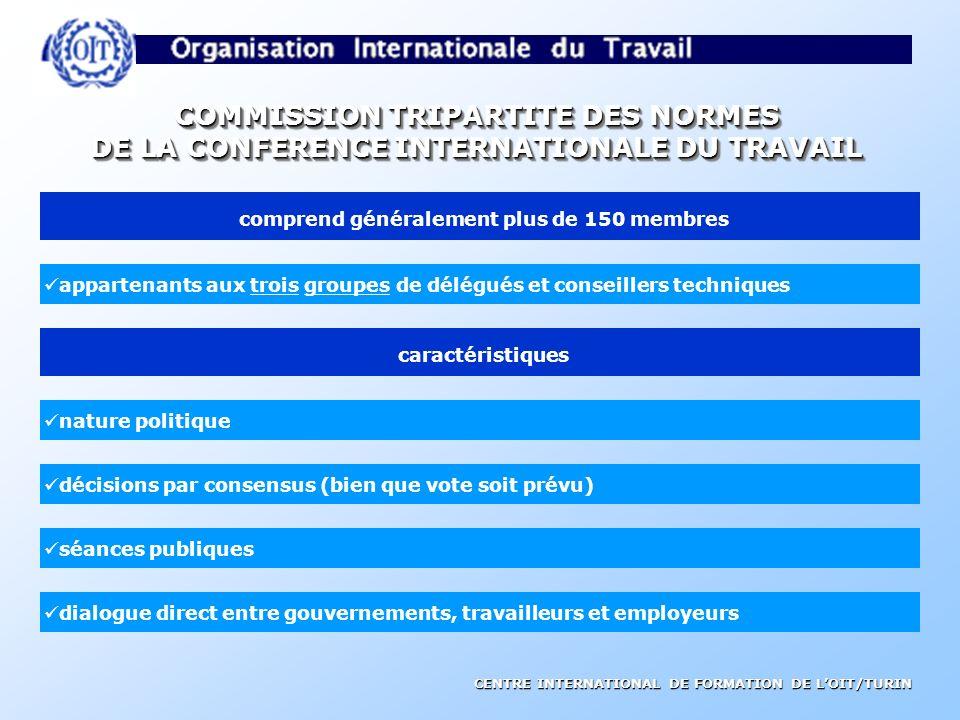 COMMISSION TRIPARTITE DES NORMES