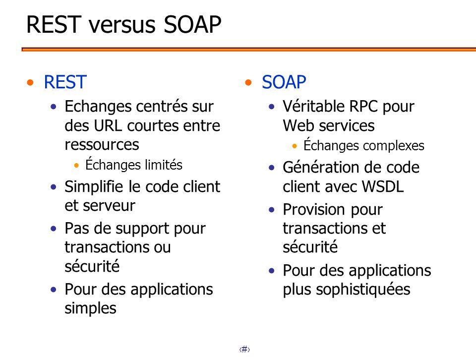 rest versus soap