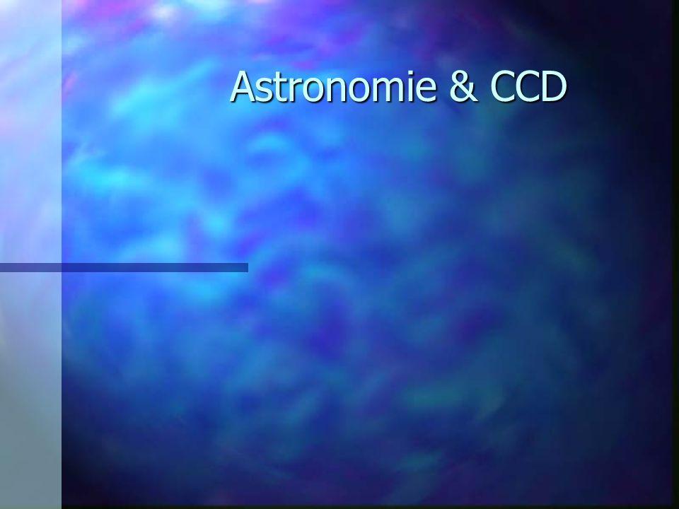 Astronomie & CCD