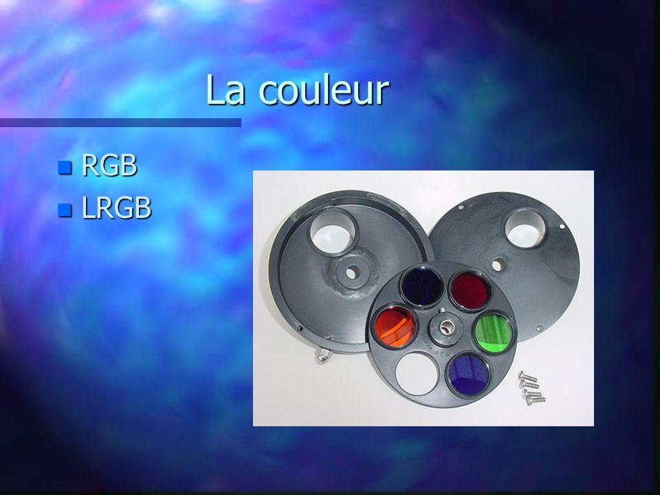 La couleur RGB LRGB