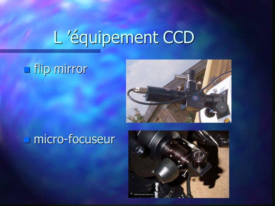 L 'équipement CCD flip mirror micro-focuseur
