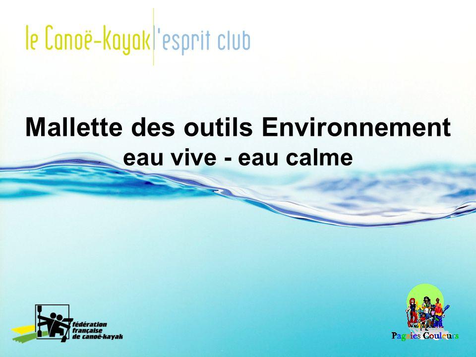 Mallette des outils Environnement