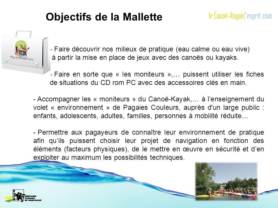Objectifs de la Mallette