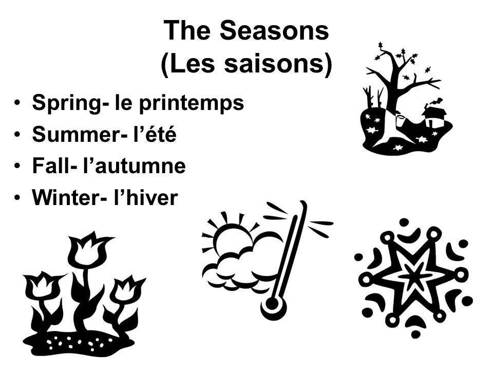 The Seasons (Les saisons)