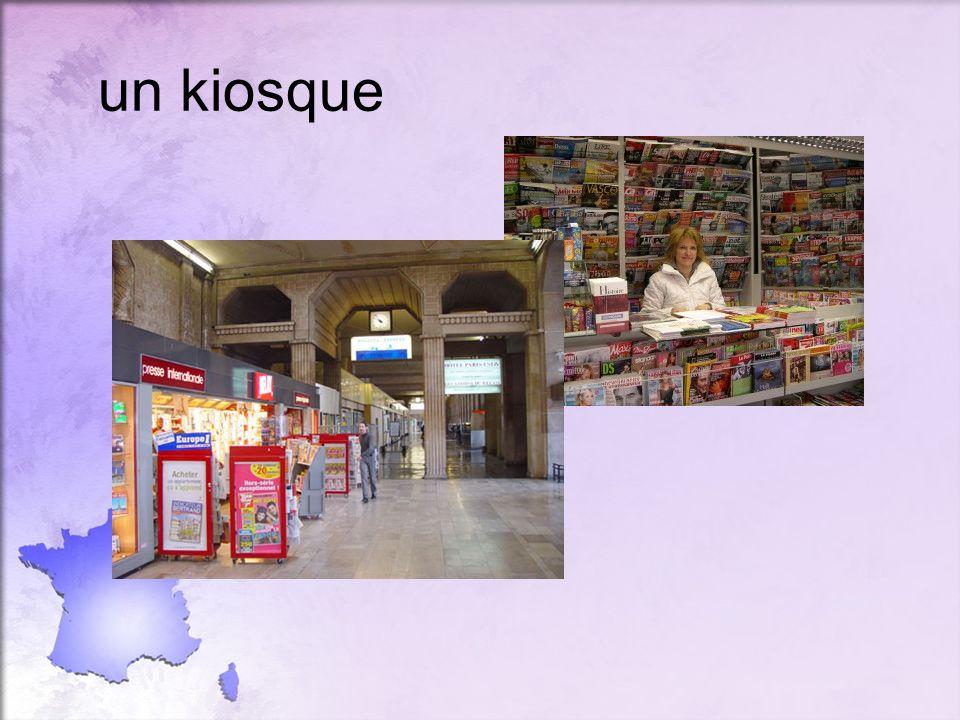 un kiosque