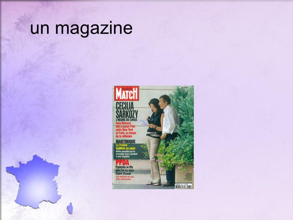 un magazine