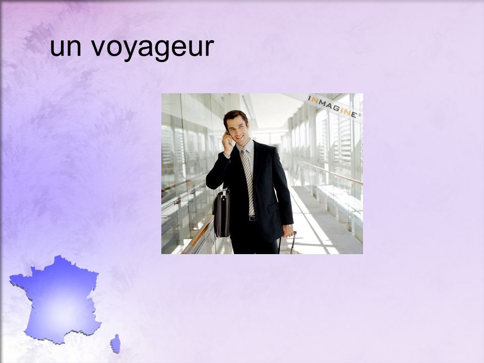 un voyageur