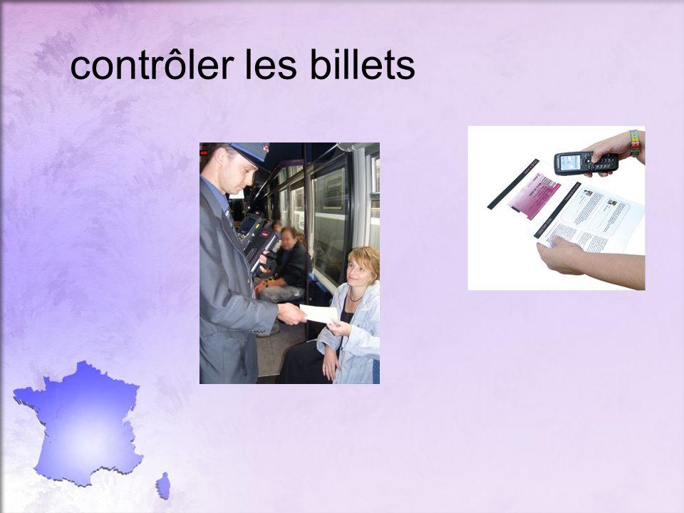 contrôler les billets