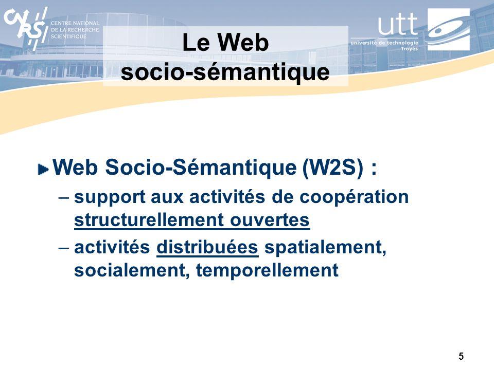Le Web socio-sémantique
