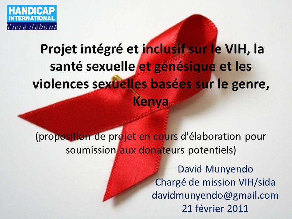 Chargé de mission VIH/sida