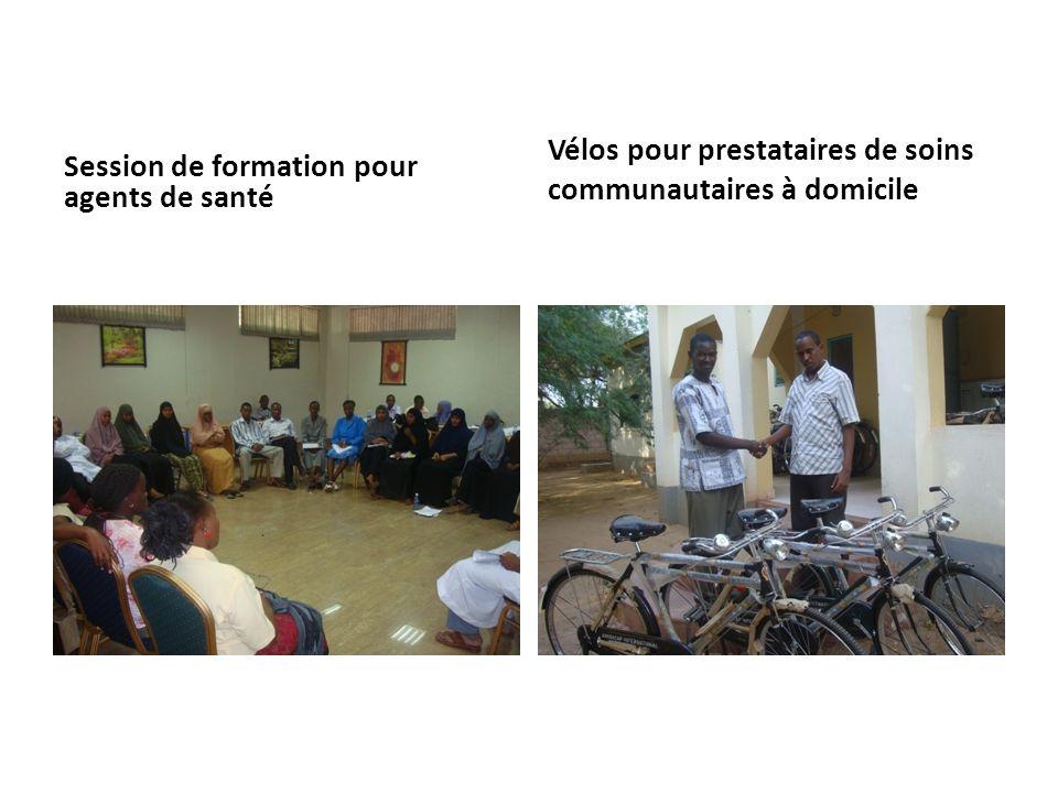Session de formation pour agents de santé