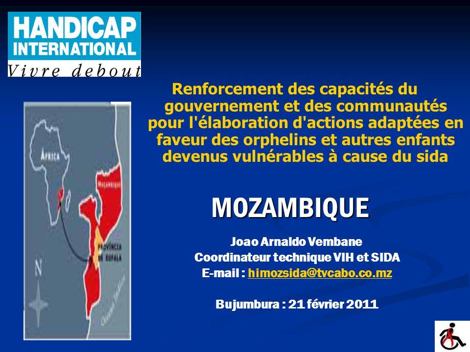 Coordinateur technique VIH et SIDA E-mail : himozsida@tvcabo.co.mz