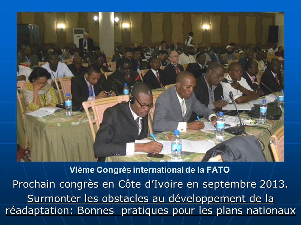 VIème Congrès international de la FATO