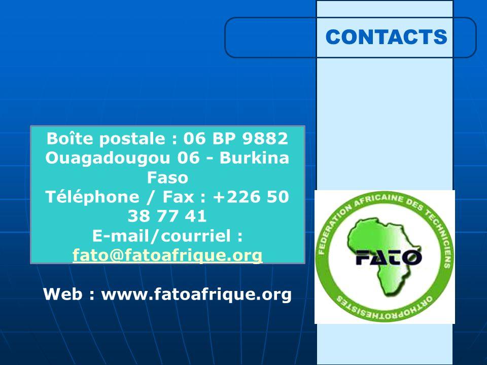 E-mail/courriel : fato@fatoafrique.org