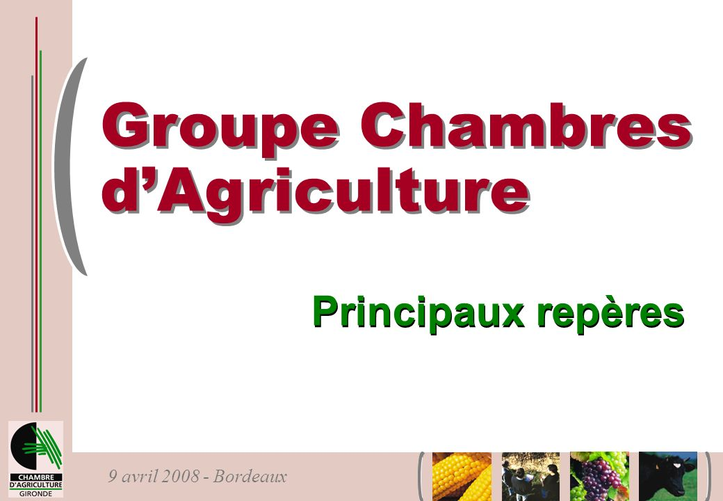 Groupe Chambres d'Agriculture