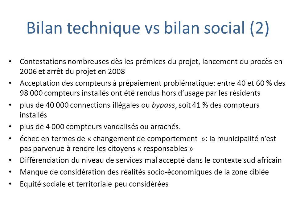 Bilan technique vs bilan social (2)