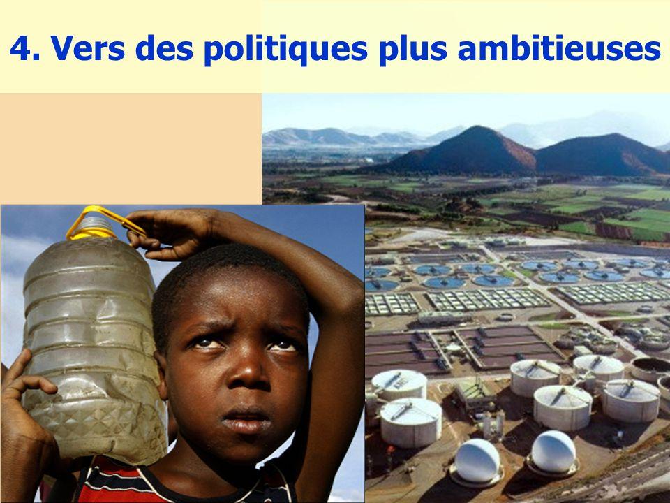 4. Vers des politiques plus ambitieuses