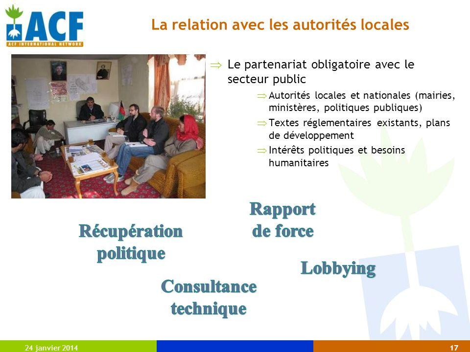 Rapport de force Récupération politique Lobbying Consultance technique