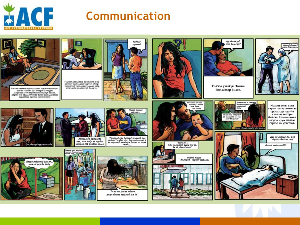Communication Cartoon KAP survey Comics Leaflet Maquette Movies Songs