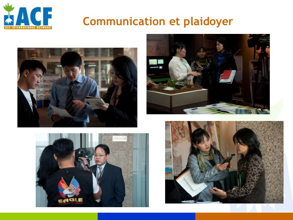 Communication et plaidoyer