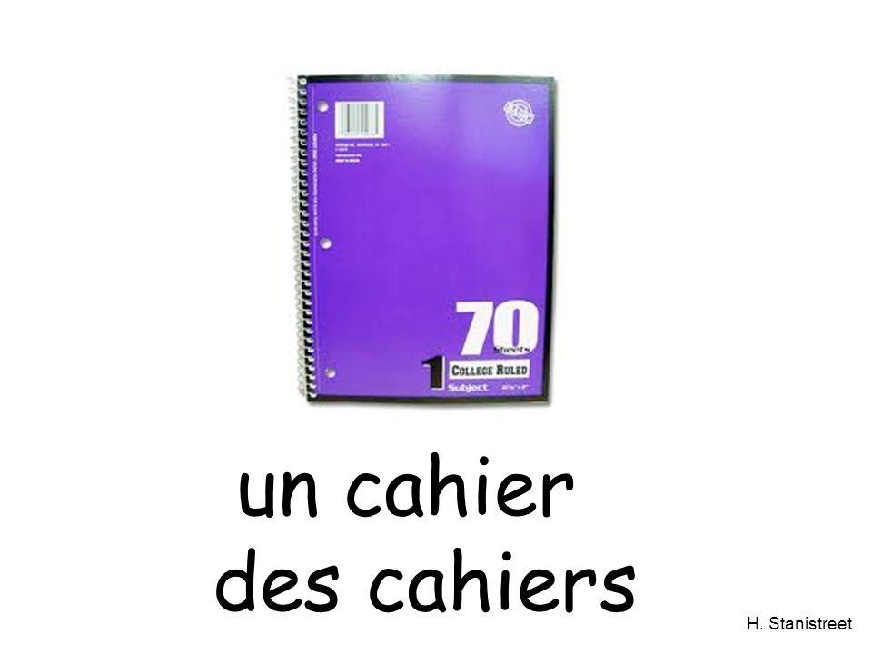un cahier des cahiers