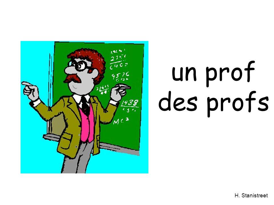 un prof des profs