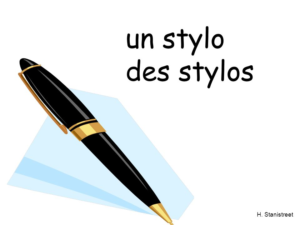 un stylo des stylos