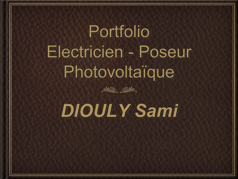 Portfolio Electricien - Poseur Photovoltaïque