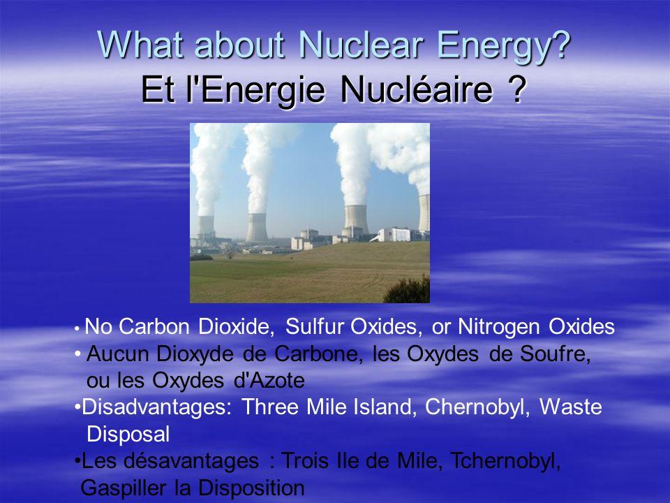 What about Nuclear Energy Et l Energie Nucléaire