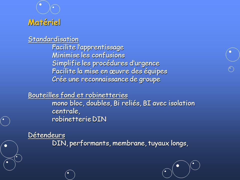 Matériel Standardisation Facilite l'apprentissage