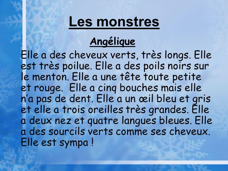 Les monstres Angélique