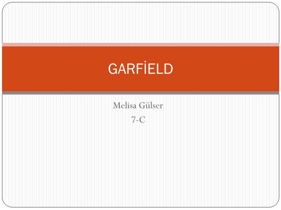 GARFİELD Melisa Gülser 7-C
