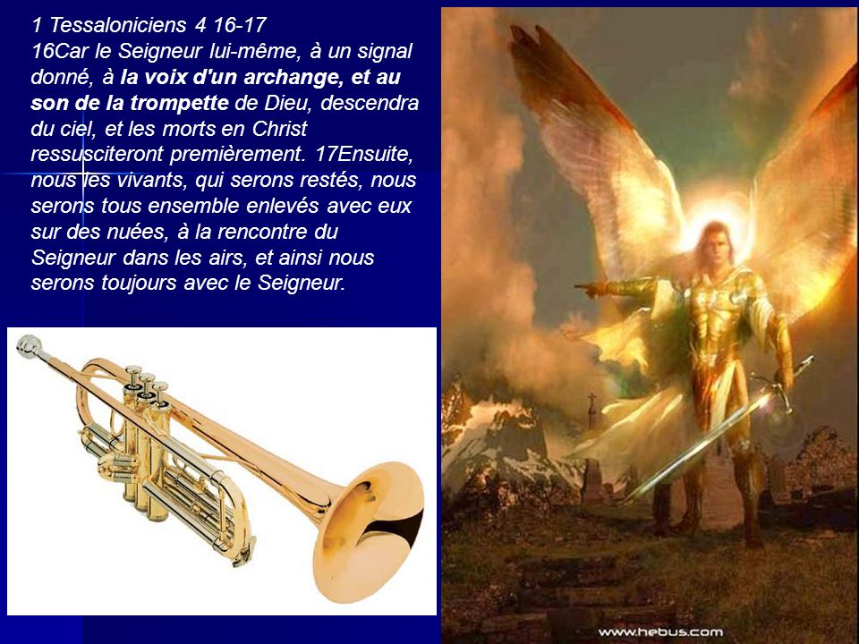 1 Tessaloniciens 4 16-17