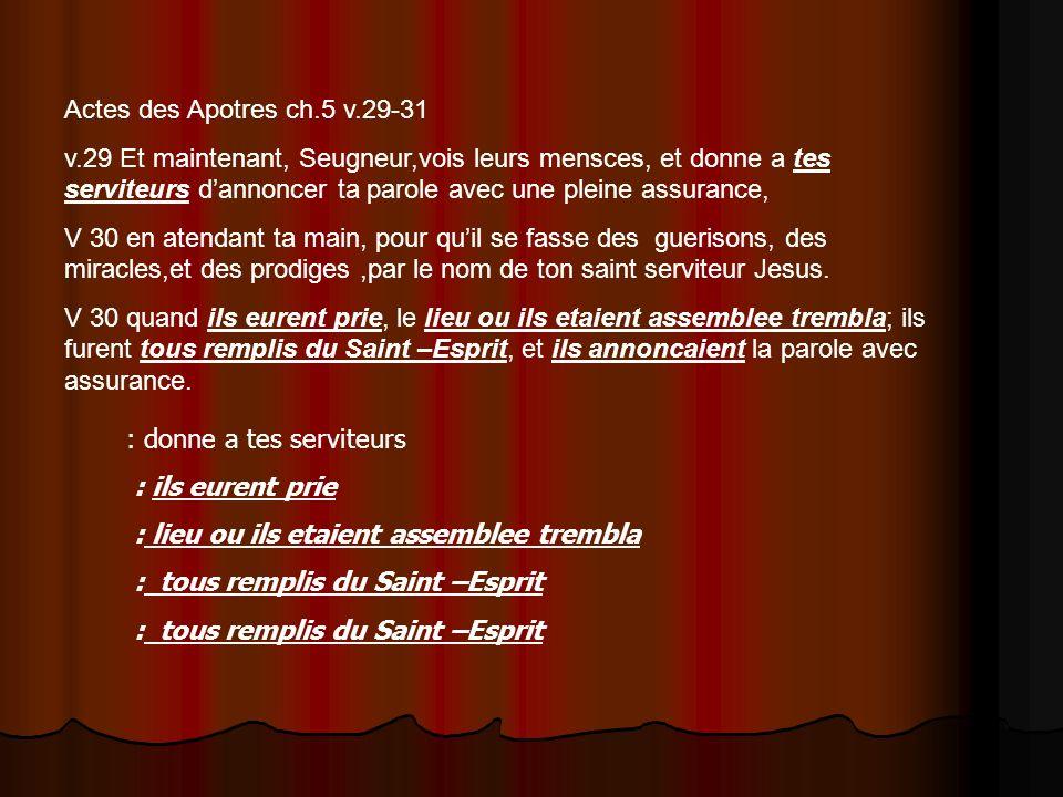 Actes des Apotres ch.5 v.29-31