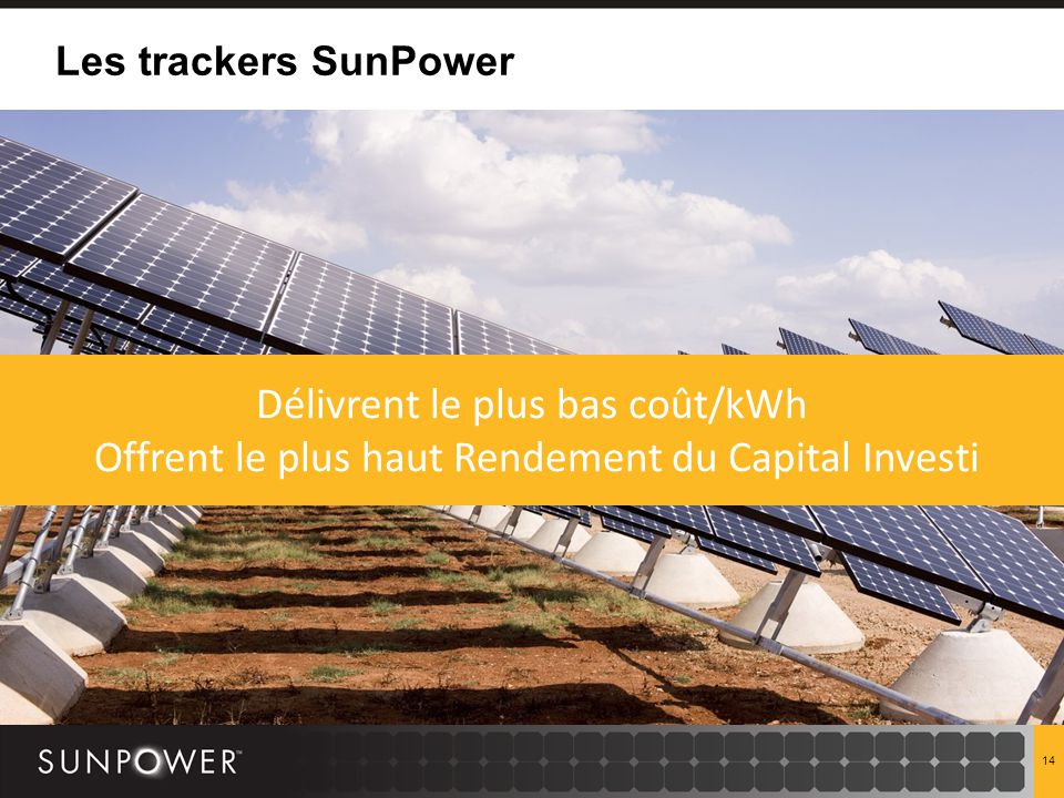 centrales solaires sunpower par fran ois le ny ppt t l charger. Black Bedroom Furniture Sets. Home Design Ideas