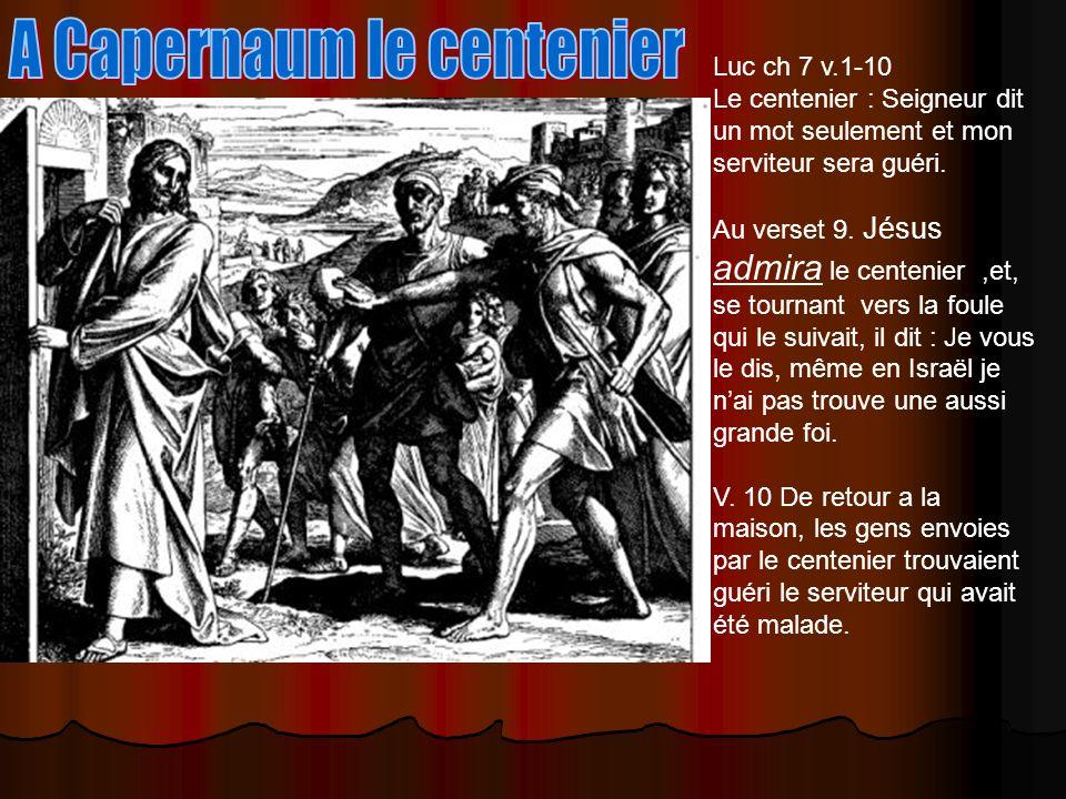 A Capernaum le centenier