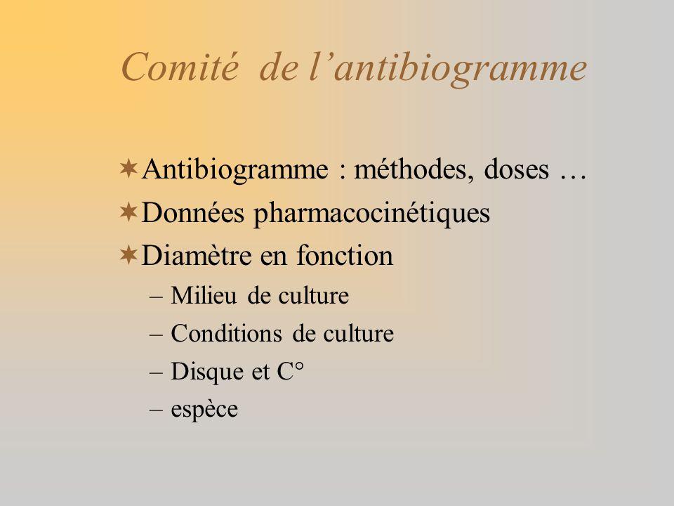 Comité de l'antibiogramme