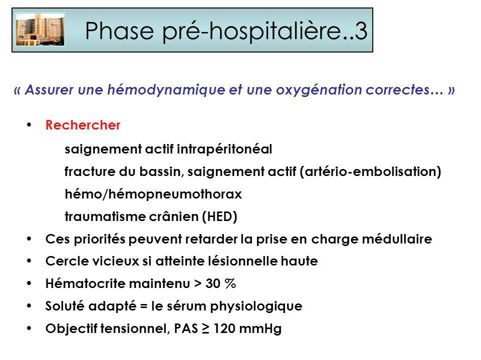Phase pré-hospitalière..3