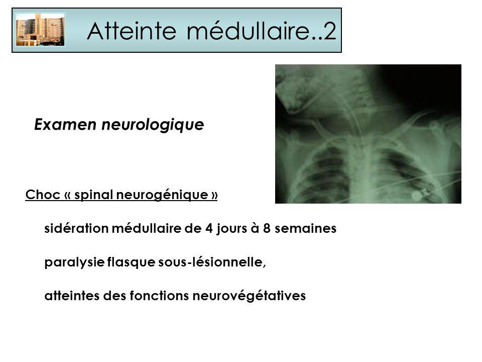 Atteinte médullaire..2 Examen neurologique