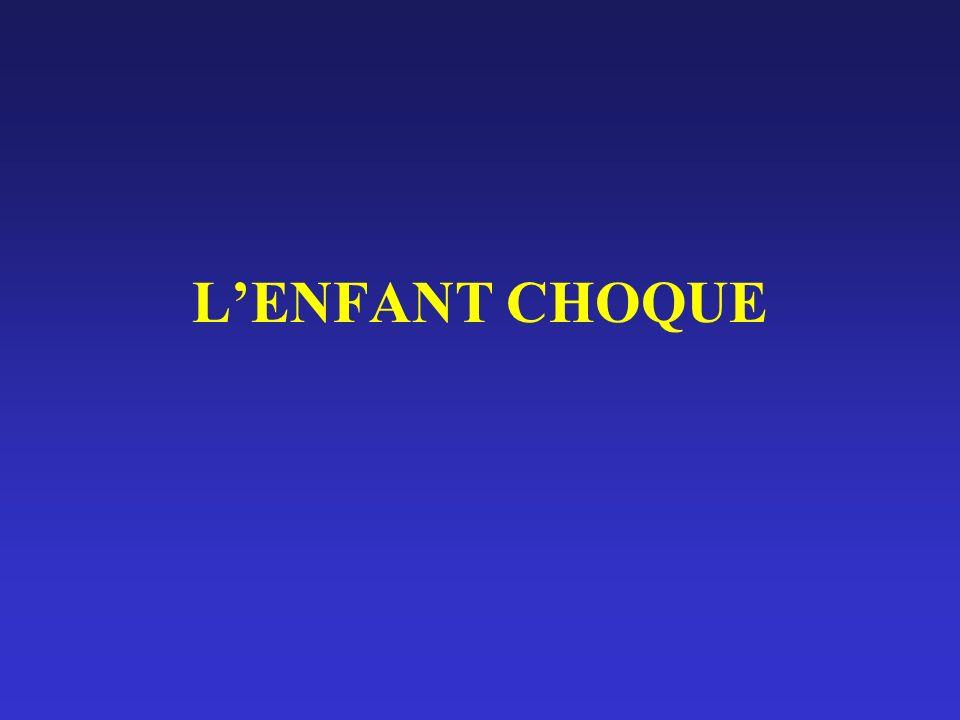L'ENFANT CHOQUE
