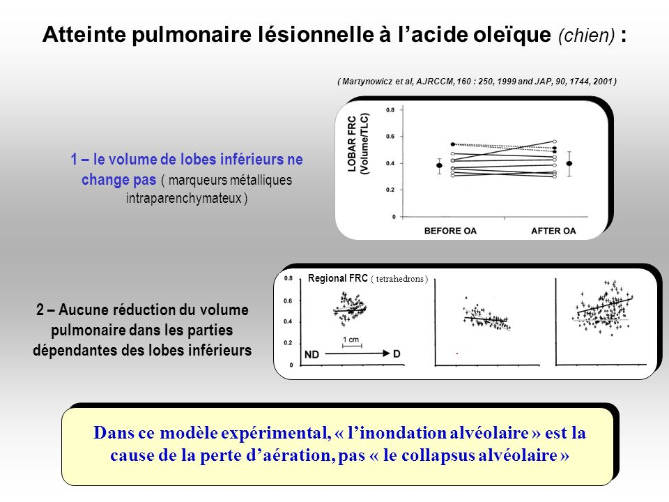 ( Martynowicz et al, AJRCCM, 160 : 250, 1999 and JAP, 90, 1744, 2001 )