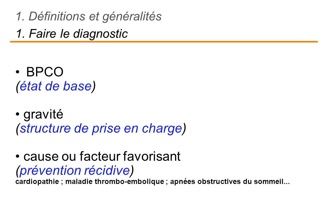(structure de prise en charge) • cause ou facteur favorisant