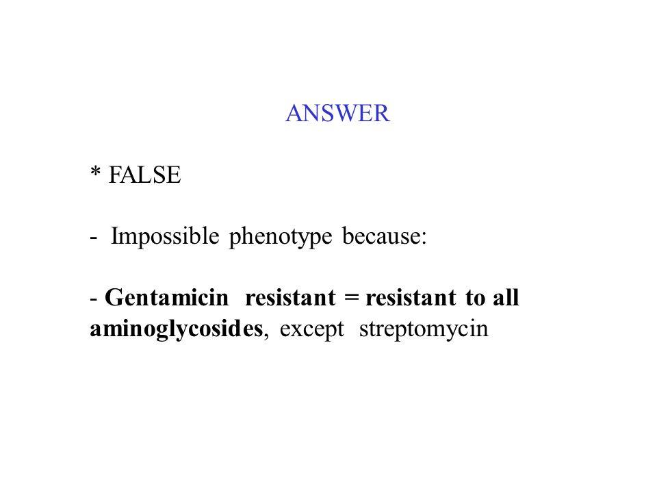 ANSWER* FALSE.