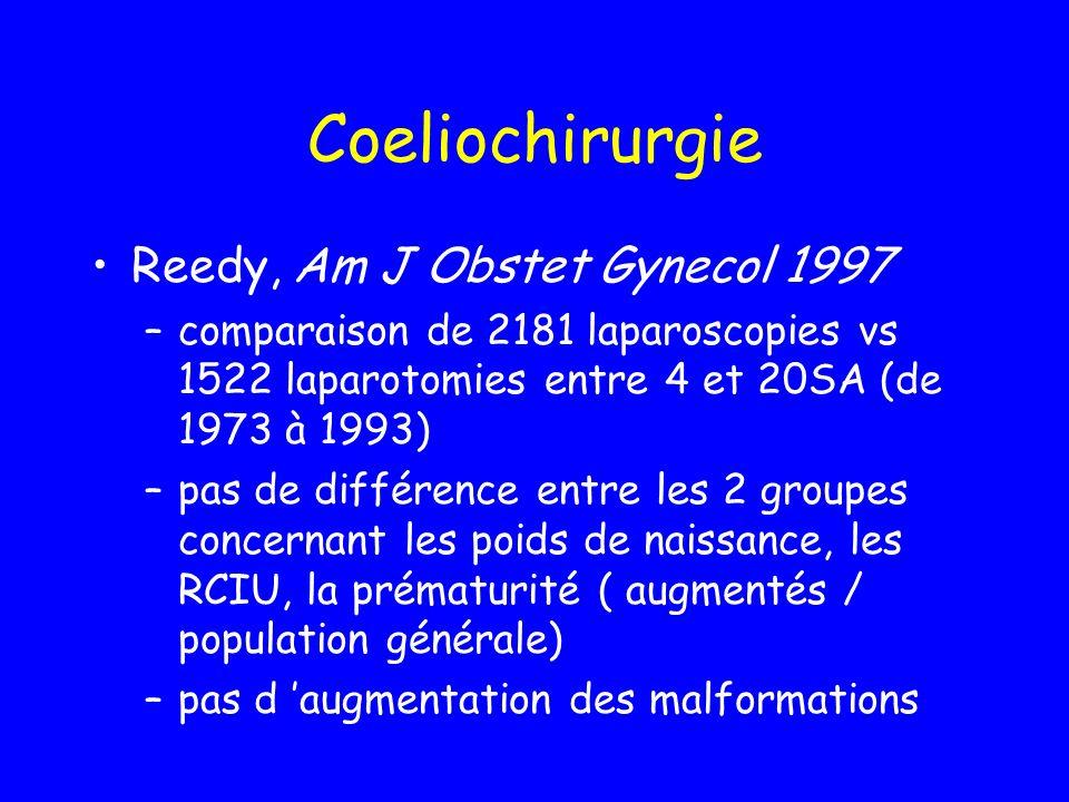 Coeliochirurgie Reedy, Am J Obstet Gynecol 1997