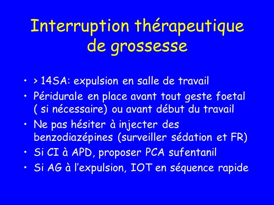 Interruption thérapeutique de grossesse